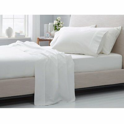 b1595f6ff275 Extra Deep Pocket Bed Sheet Set All USA Size White Solid 100% Cotton 400 TC