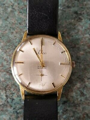 Vintage Elco 17 Jewel Watch Incabloc Swiss Made Excellent Working Condition