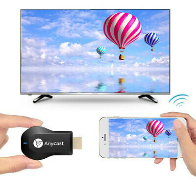 1080P WiFi HDMI Anycast Miracast Airplay TV Wireless Display Adapter For Windows