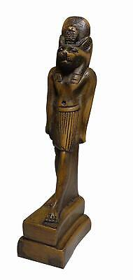 "Egyptian King Anubis Pharaoh Figurine Statue 4.5"" Ancient Goddess Sculpture 201"