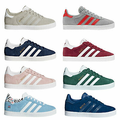 79918eb4429 Adidas Originals Gazelle Children Kids Sneakers Trainers Low Shoes Suede