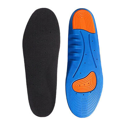 Unisex Men Women Gel Orthotic Sport Insoles Insert Shoes Pad Support Cushion UK