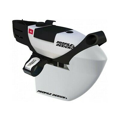 Profile Design FC35 Aero Hydration System for Triathlon TT White with Bite Valve