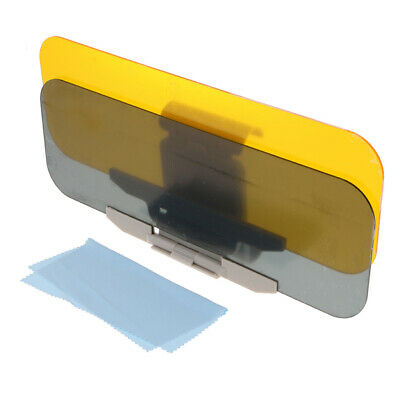 Car Anti-Glare & Dazzling Goggle Day Night Vision Driving Sun Visors Mirror