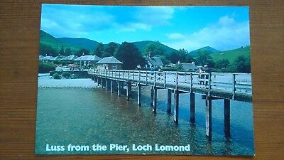 Luss From The Pier, Loch Lomond Unused Postcard