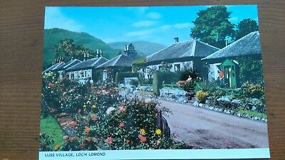 Luss Village, Loch Lomond Unused Postcard