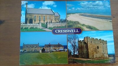 Cresswell Unused  Postcard