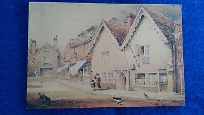 The Chesil Rectory Winchester Unused Postcard