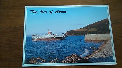 The Isle Of Arran Unused Postcard