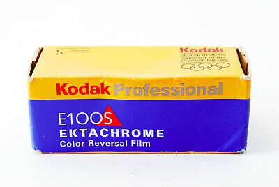 Kodak Professional E100S 120 EKTACHROME Color Reversal Film Expired:11/2001 A070