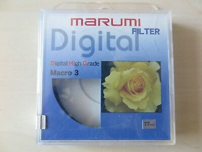 77mm Marumi DHG Macro +3 - new - 30 days sale