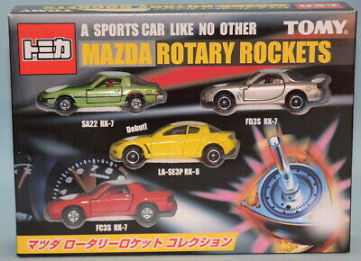 Tomy Tomica / Gift Set Mazda rotary rocket collection ST3
