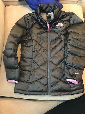 0ea5026fd GIRLS THE NORTH Face Brown 550 Down Transit Coat Size Medium ...