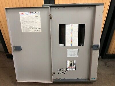 MEM MEMSHIELD 2 6-Way MCB Distribution Board 3-Phase BM62 With 200Amp Main