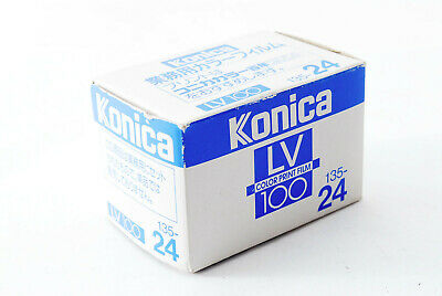 Konica LV100  ISO 100 Industrial Color Film 135 24Exp From Japan A0705