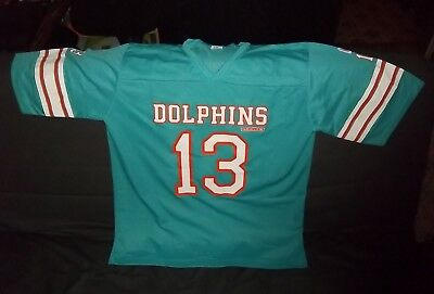 Ancien Maillot (années 80) Foot US Dolphins Taille XL Licence officielle NFL TBE