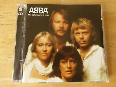 ABBA ‎– The Definitive Collection - 2 CD Set ( Waterloo / Ring Ring / Eagle )
