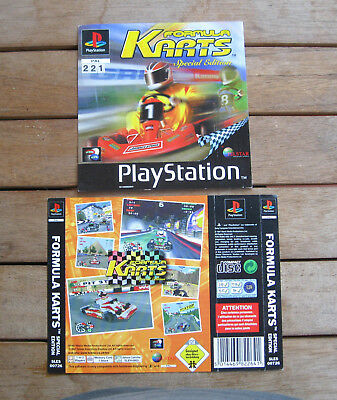 Formula Karts (1997) Playstation 1 Cover Originale, No Disco