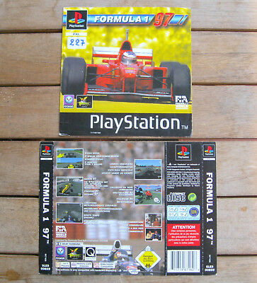Formula 1 97 (1997) Playstation 1 Cover Originale, No Disco
