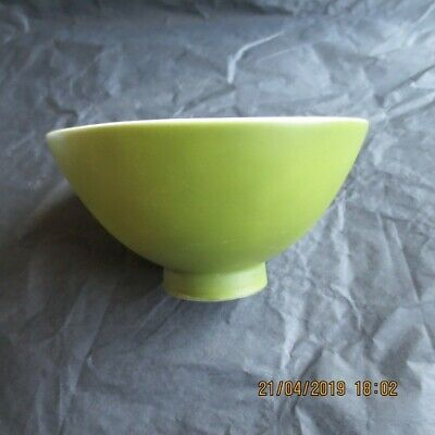 Chinese antique single color glazed porcelain bowl Green glaze bowl one of 4 col