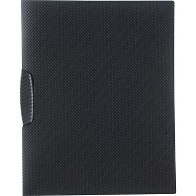 Staples Textured Poly Swing Arm Report Cover Black Each (13683-CC) 654255