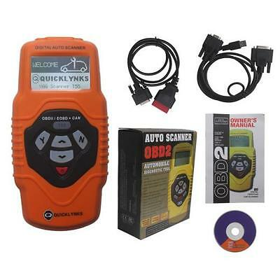 QuickLynks T55 OBD2 Scanner Diagnostic Engine, Airbag, ABS, Auto Trans VAG + VW