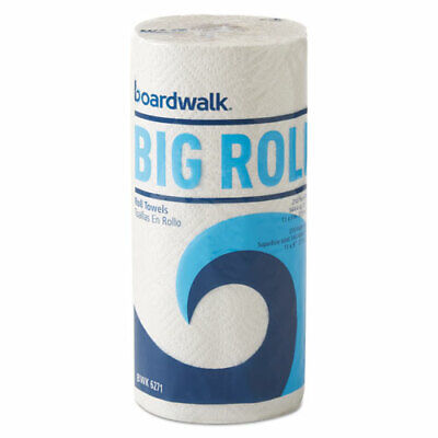 """Boardwalk Office Packs Perforated Paper Towel Rolls, 2-Ply,white, 9"""" X 11"""","""