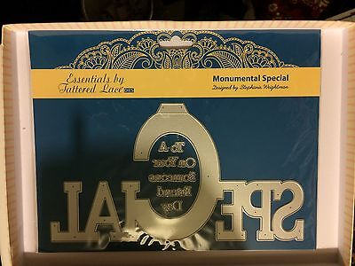 Tattered Lace Essentials Monumental Moments ~ SPECIAL ~ Die   8 Dies