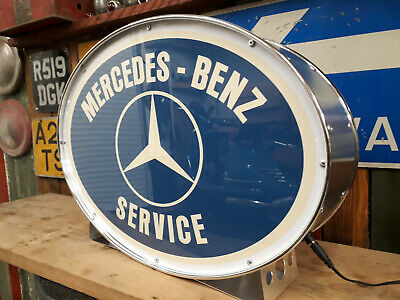 Mercedes,sl,merc,vintage,old,classic,mancave,lightup sign,garage,workshop,shop