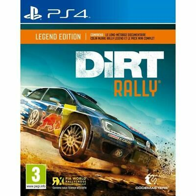 Ps4 Dirt Rally Legend Edition Fr Francais Pal ++ 100% Neuf ++ Ps 4 Playstation 4