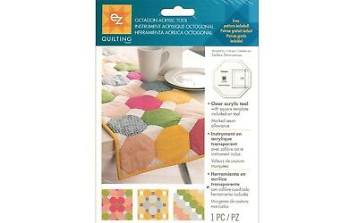 EZ SIMPLICITY OCTAGON TEMPLATE -ACRYLIC ruler QUILTING PATCHWORK