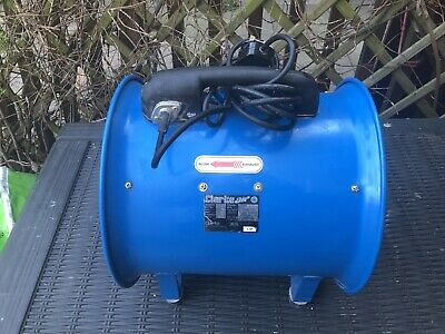 """Clarke CAM300B 12"""" Portable Ventilator Air Mover And Ducting"""