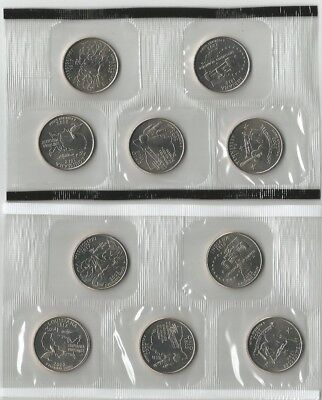 Estados Unidos. 2002 Set De Quarter Dollar. P & D. Uncirculated!!