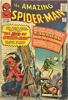 Amazing Spider-Man #18_1St Ned Leeds!_Nov_1964_3.0 Good/very Good (Gd/vg)