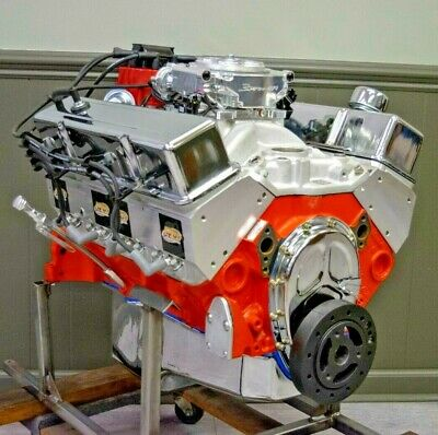 383 SMALL BLOCK Chevy Stroker Crate Engine 450HP/450TQ EFI COMPLETE TURNKEY