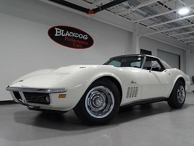 1969 Corvette L88 Convertible 1969 Chevrolet Corvette L88 Convertible 6,456 Miles Can-Am White Convertible V8