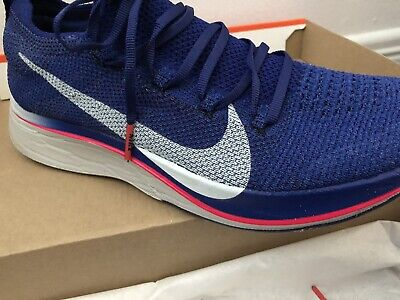 450173089516 NIKE ZOOM VAPORFLY 4% Flyknit  Deep Royal  Size 7 - 12 Authentic ...