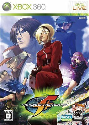 USED The King of Fighters XII Japan Import Xbox 360
