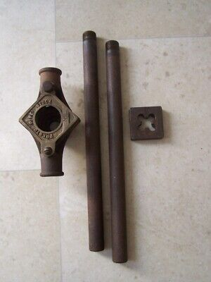 VINTAGE PRESTO PIPE THREADING DIE STOCK NO.1 with bars