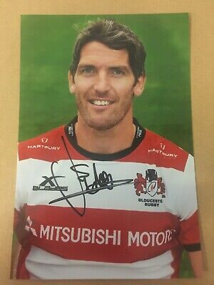 James Hook - Gloucester Rugby Player Signed 6x4 Photo