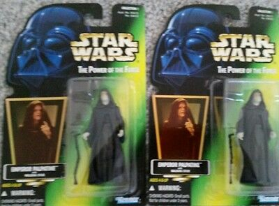 Star Wars Force Link Emperor Palpatine Flametrooper 3.75 Inch Figures x2 NEW