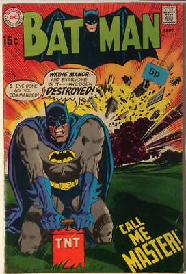 Batman #215 (DC 1969) Silver age classic. VG+ condition.