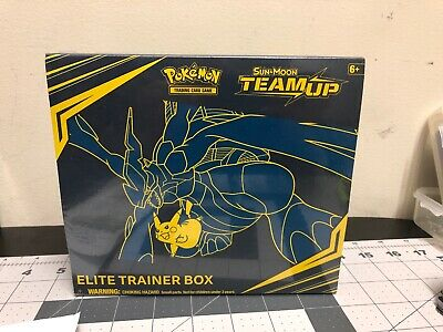 Pokemon Team Up Elite Trainer Box 8 Booster Packs Sun & Moon TCG Sealed