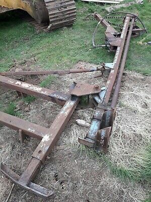 3point Linkage Hydraulic Post Knocker ,tractor