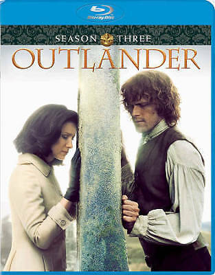 Outlander Season 3 [Blu-ray] DVD, Sam Heughan, Graham McTavish, Caitriona Balfe,
