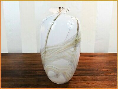 Art Glass William Walker Signed And Dated Art Glass Vase Fauna-decoration 15cms Tall Online Shop Glass
