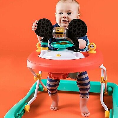 Disney Baby Mickey Mouse Happy Triangles Walker - New