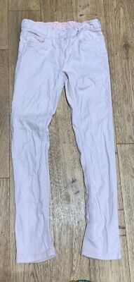 Next!! Girls Baby Pink Colour, Skinny Jeans, Adjusable Waslt, Size 12, Years,VGC