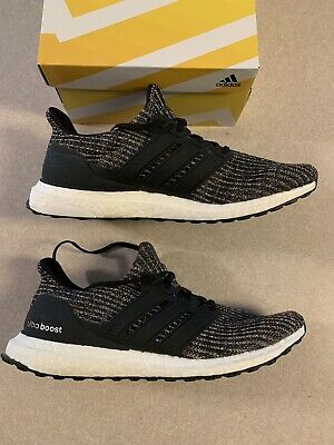 658709f7f Men s adidas Ultraboost Running Shoes Core Black Carbon Ash Silver Size 11