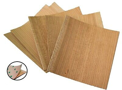 Unfinished PSA Cherry Veneer Pack | Wood Sheets Perfect for Laser Cutter and cut
